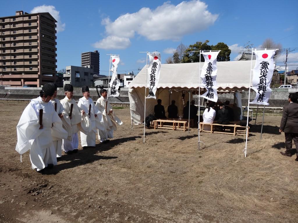 諫早大水害殉難者慰霊祭ならびに東日本大震災復興祈願祭1