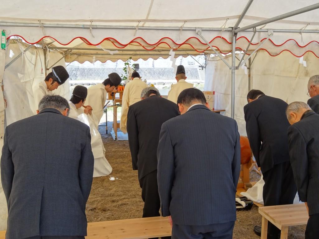諫早大水害殉難者慰霊祭ならびに東日本大震災復興祈願祭3