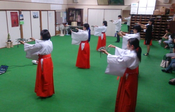 栄田町・舞姫部練習150926_1