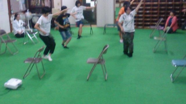 巫女舞の練習(栄田町)151003
