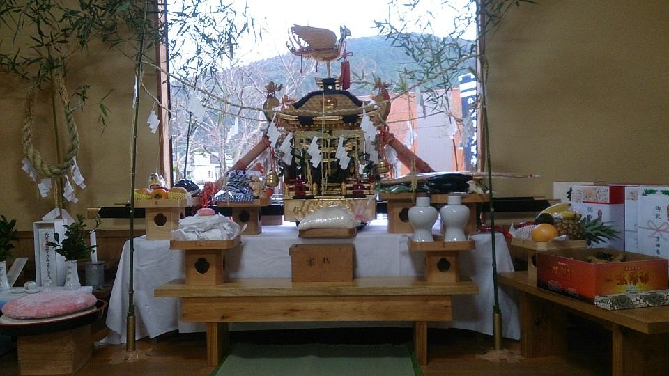 森山町河上神社_御旅所祭H27田尻公民館