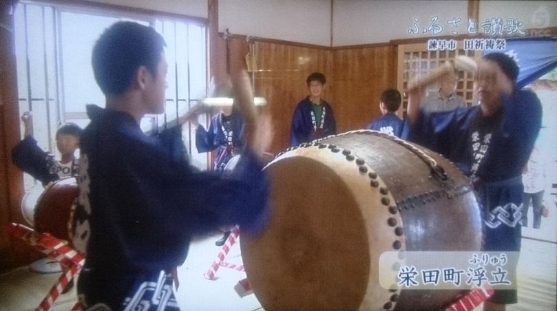 ふるさと讃歌(NCC)栄田町田祈祷浮立160727_5